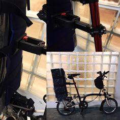 Quick release #brompton luggage touring solution #bikegang #bromptonbicycle #bromptonlife #bromptonmods #我的小布 #小布生活 #小布單車幫 #BIKEgangHut #BIKEgangTw #bikegangsg
