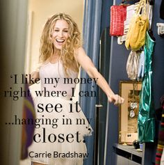#STYLERULES: Carrie Bradshaw knows where to invest her money!
