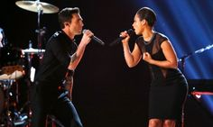 ADAM LEVINE AND ALICIA KEYS - Google Search