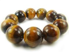 BA4227 Yellow Tigers Eye Natural Crystal Stretch Bracelet - See more at: http://waggashop.com/wagga-shop-ba4227-yellow-tigers-eye-natural-crystal-stretch-bracelet