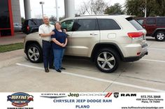#HappyAnniversary to Kathy Ratcliff on your 2014 #Jeep #Grand Cherokee from Ed  Lewis at Huffines Chrysler Jeep Dodge RAM Plano!