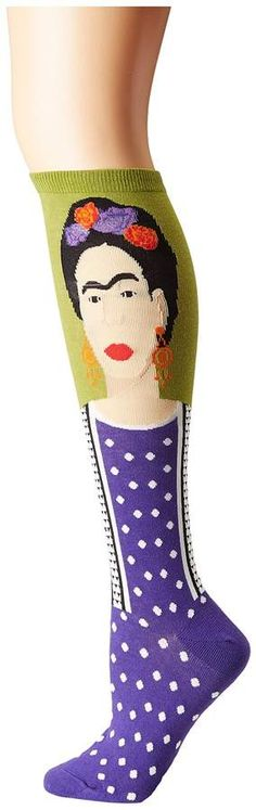 Frida is everywhere #fridakahlo #socks #giftidea #afflink
