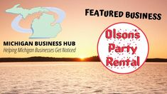 Featured Business: Olson's Party Rental Business Hub, Michigan, Facebook, Party, Fiesta Party, Parties, Ballerina Baby Showers