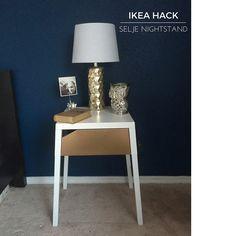Ikea Selje Nightstand Spray Paint Hack