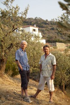 """IN BLUE Skies and Black Olives: A Survivor's Tale of Housebuilding and Peacock Chasing in Greece Britain's legendary BBC journalist / """"national treasure"""" John Humphrys writes . John Humphrys, Hysterically Funny, National Treasure, Blue Skies, Father And Son, Greece Travel, Olives, Bbc, Peacock"""