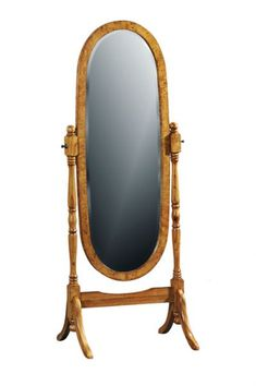 This walnut cheval mirror would be a beautiful addition to your bedroom. It is crafted from solid wood with burr walnut veneers. Part of a range from Lock Stock and Barrel Furniture. Walnut Bedroom Furniture, Classic Bedroom Furniture, Barrel Furniture, Cheval Mirror, Walnut Veneer, The Hamptons, Craftsman, Solid Wood