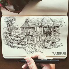 Seaweed Kisses: The Journal Diaries- Elaine's Sketchbook