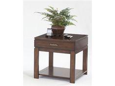 Progressive Furniture Drawer End Table P412-04