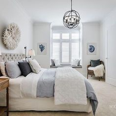Guest Bedroom Ideas + Design Plans Create a dream guest bedroom with these ideas + sources. Simple and beautiful guest bedroom ideas. Bedroom Makeover, Beautiful Bedrooms, Home, Bedroom Inspirations, Bedroom Styles, Guest Bedrooms, Home Bedroom, Hamptons Style Bedrooms, Coastal Bedrooms