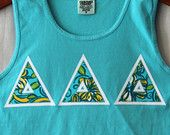 Lagoon Comfort Colors Tank With Lilly Delta Delta Delta on White