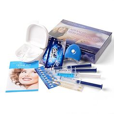 Best SPEQUIX Professional Teeth Whitening Kit With Whitening Gel Teeth Whitening Trays Brush Up Cold Light Lamp