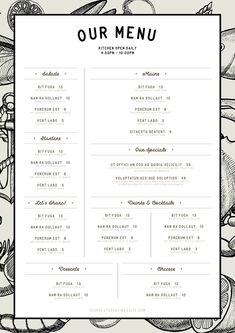 How to Make a Restaurant Menu Template in InDesignYou can find Menu design and more on our website.How to Make a Restaurant Menu Template in InDesign Food Menu Template, Restaurant Menu Template, Restaurant Menu Design, Restaurant Branding, Menu Templates, Restaurant Restaurant, Business Templates, Menu Board Design, Cafe Menu Design