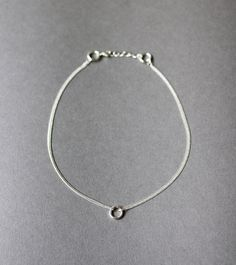 silver circles necklace | AMM Jewelry