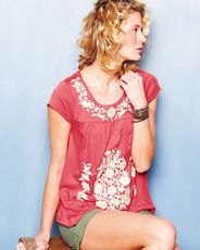 I have this top and love it.  I can tell it's going to be my go-to top for summer.  #garnethill #summerstyle