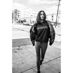 New styles! Vintage Sweatshirt w RAGDOLL print & Dark Grey Skinny Long Johns ❤️ #CasualChic #IMARAGDOLL