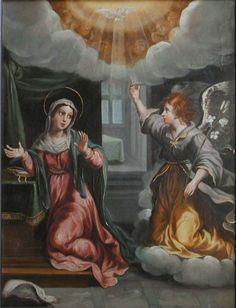 Anonimo, La Anunciacion 1650  http://www.museoblaisten.com/Sala/10/Pintura-virreinal-o-novohispana