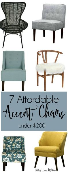 Accent chairs, affor