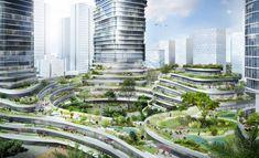 "Gallery of Buro Ole Scheeren Unveils Skyscraper Complex in Ho Chi Minh City Featuring Public ""Sky Forest"" - 4"