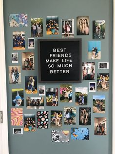 Temple or family pic with quotes and pictures around it Cute Room Ideas, Cute Room Decor, Teen Room Decor, Room Ideas Bedroom, Bedroom Inspo, Bedroom Decor, College Room, Dorm Room, Decoration Photo