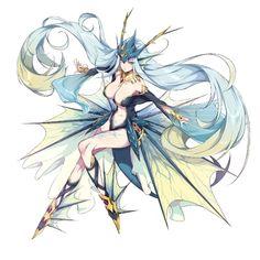 Fantasy Character Design, Character Design Inspiration, Character Art, Anime Warrior, Anime Demon, Anime Fantasy, Fantasy Girl, Fantasy Characters, Anime Characters
