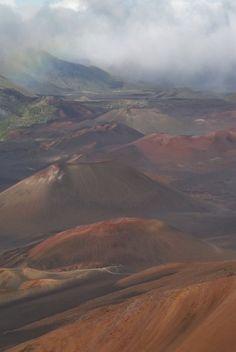 Haleakala National Park, Maui, Hawaii. Photo by me.