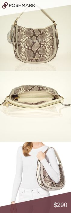 Michael KORS Julia Hobo Leather Soft Crossbody Z741. Dustbag isn't included MICHAEL Michael Kors Bags Shoulder Bags