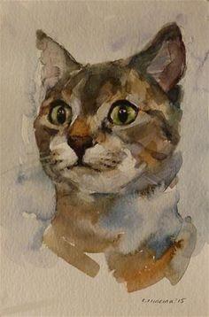 "Daily Paintworks - ""adopt71"" - Original Fine Art for Sale - © Katya Minkina"