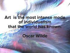 Wilde quote on my photo. Very true. #colorcatstudios