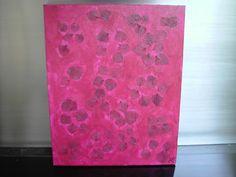 """""""LEAVES"""" - Acrylverf - Eigen werk-Own work !!! Abstract painting - Made by MIK (miek de keyser - Ranst - Belgium)"""