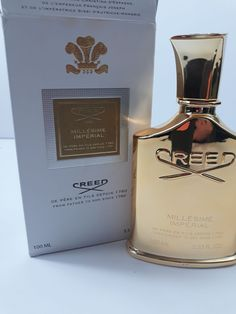 Millesime Imperial New in Box EDP oz. Exquisite Fragrance just not like anything else. Creed Millesime is a unique combination of soft powder powder smell with a hint of cedar. House Of Creed, Joseph, Men's Cologne, Prom, Smell Good, Powder, Perfume Bottles, Fragrance, My Favorite Things