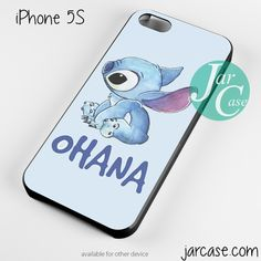 Please follow!!!! sticth ohana Phone case for iPhone 4/4s/5/5c/5s/6/6 plus