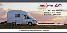 Wingamm MICROS on display at the Salone del Camper, 10-18 Settembre 2016, Padiglione 3, Stand F060, Parma, Italy