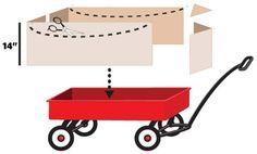 a wagon into a mini parade float