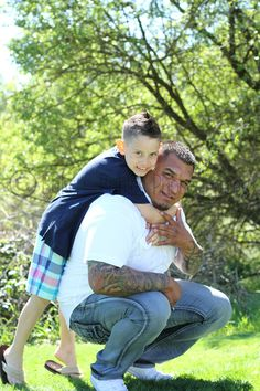 Such a cute Father/Son photo!