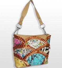 Multi Print Rhinestone Handbag - Handbags, Bling & More!