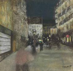 Edouard Vuillard (French, 1868-1940), Effet du soir [Evening], c.1895. Pastel on paper, 31.6 x 30.8 cm.