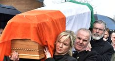 Body of Martin McGuinness carried home through streets of Derry for the final time - Irish Post