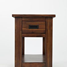 Coolidge Corner One Drawer Chairside Table | Occasional Tables | Discount  Direct Furniture And Mattress Gallery