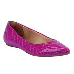 Sapatilha Pink de Verniz - Shoestock