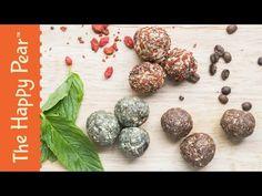 Super Energy Balls 3 ways - The Happy Pear Recipe - YouTube