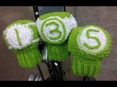 Golf Club Covers Crochet Tutorial www.bobwilson123.org