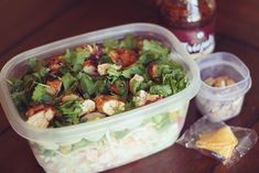 Asian Chicken Salad with a Crunch! (serving size: 1 3/4 cups. calories:175. WW Pts+Value:6 )