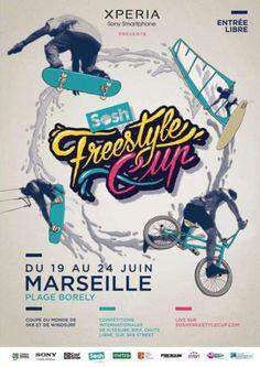 Skate, kite, Windsurf et soirées à Marseille avec Sony et Sosh