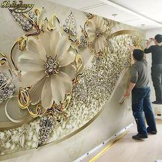 Tapiz De Pared Arte Decoración de diseño Big Fish Bajo a Rayas para Dormitorio TV telón de fondo