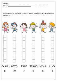 Kindergarten Math Sprints for Numbers Preschool Writing, Preschool Printables, Preschool Worksheets, Preschool Activities, Writing Activities, Teaching Kids, Kids Learning, Kindergarten Addition Worksheets, Math Challenge