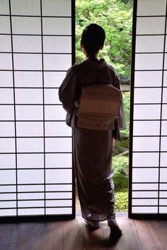 Japanese woman in kimono...love this shot