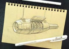 Damn,  my engine just Broke, it will take a while to fix it now... I think I'm getting the hang if things now haha #Inktober2016 #inktober  #Jet #engine #airplane #mechanical #vehicle #design #entertainment #sketchbook #industrial #drawings #draw #sketch #conceptartist #pen #ink #create #illustration art #artist #artwork #arthabit #aircraft #pic #everyday #flying