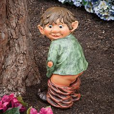 garden elf statue gifts for mom's birthday