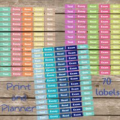 614 Best Planner Stuff Images On Pinterest Calendar Stickers And