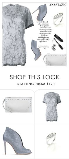 """""""summer chic"""" by anastazio-kotsopoulos ❤ liked on Polyvore featuring Furla, Carven, Gianvito Rossi, Arco and Bobbi Brown Cosmetics"""